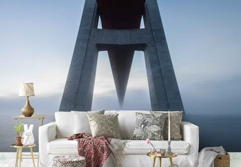 The High Coast Bridge Wallpaper Mural