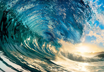 The Perfect Wave Wall Mural