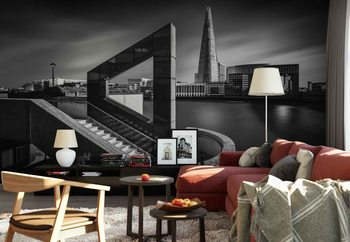 The Shard In Geometry Wallpaper Mural