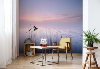 The Tranquility Of The Lake Wallpaper Mural