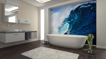 The Wave Wallpaper Mural