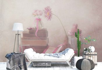 Think Pink Wallpaper Mural