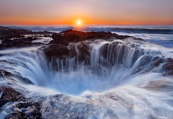 Thor's Well Wallpaper Mural