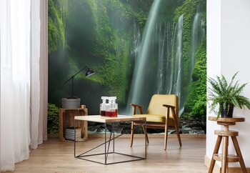 Tiu Kelep Waterfalls Wallpaper Mural