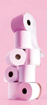 Toilet Paper Wallpaper Mural