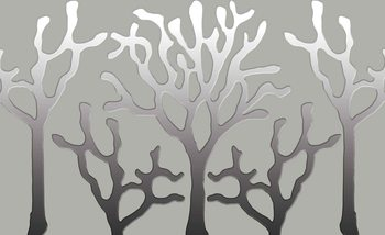 Tree Abstract Wallpaper Mural