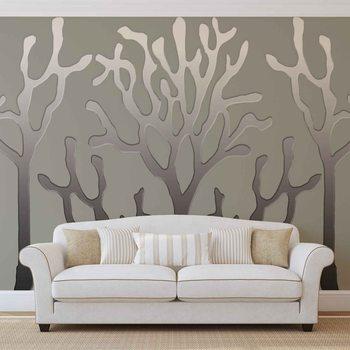 Tree Abstract Wallpaper Mural