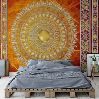 Tribal Pattern Wallpaper Mural