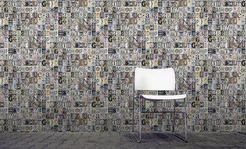 Typography Wallpaper Mural