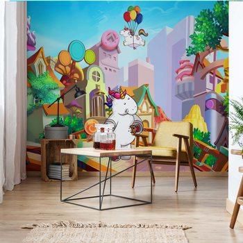 Unicorn Town Wallpaper Mural