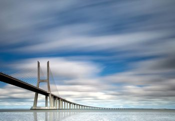 Vasco Da Gama Bridge Wallpaper Mural