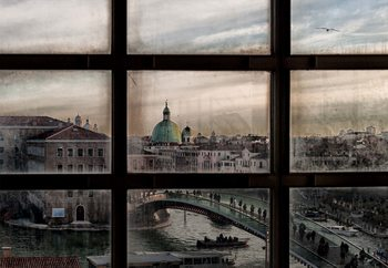 Venice Window Wallpaper Mural
