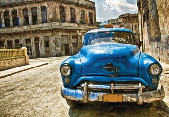 Vintage Car Cuba Havana Wallpaper Mural