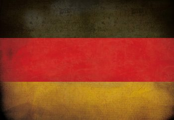 Vintage Flag Germany Wallpaper Mural
