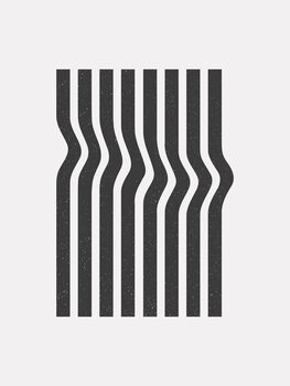 Wallpaper Mural Wave stripe