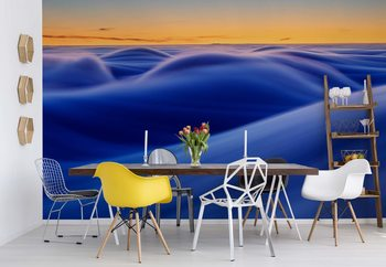 Waves Wallpaper Mural