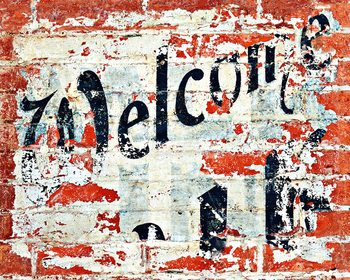 Welcome Wallpaper Mural