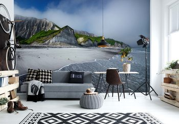 White Cliffs Of Iturup Island Wallpaper Mural