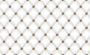 White Pattern Checkered Wallpaper Mural