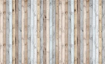 Wood Planks Texture Wallpaper Mural