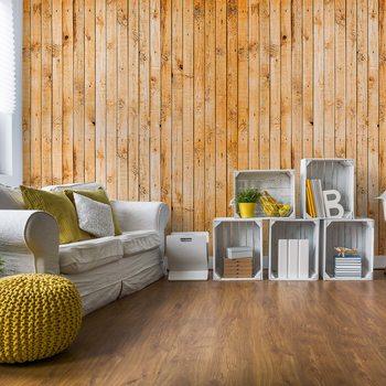 Wooden Planks Texture Wallpaper Mural