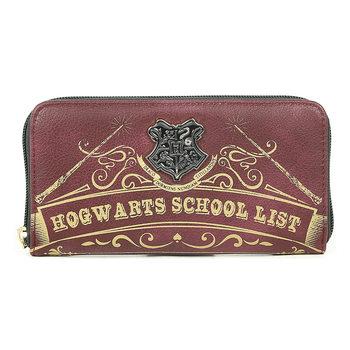 Wallet  Harry Potter - Hogwarts School Liste