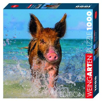 Palapeli Weingarten Paradise Pig