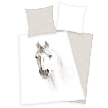 Bed sheets White Horse