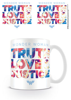 Cup Wonder Woman 1984 - Truth Love Justice