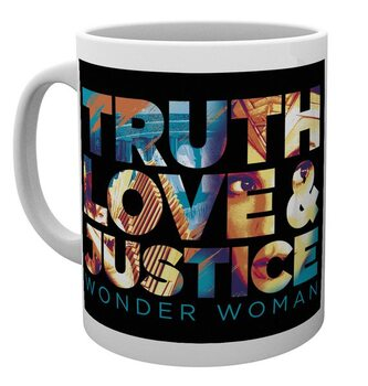 Caneca Wonder Woman 1984 - Truth, Love & Justice