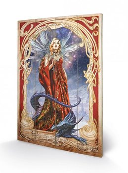 ALCHEMY - starfall on avalon Wooden Art