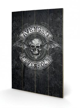 Avenged Sevenfold - Death Bat Wooden Art