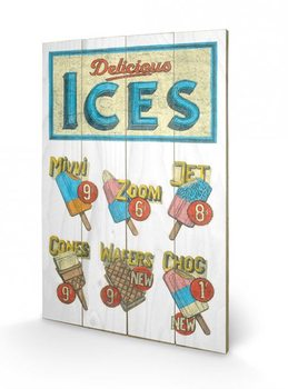 BARRY GOODMAN - delicious ices Wooden Art