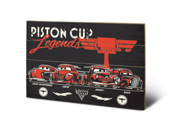 Cars 3 - Piston Cup Legends Wooden Art