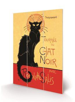 Chat Noir Wooden Art