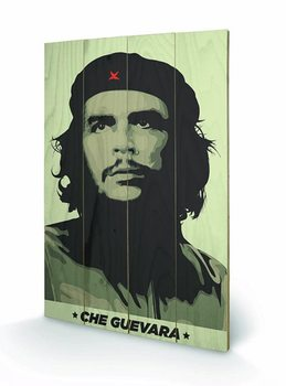 CHE GUEVARA - khaki green Wooden Art