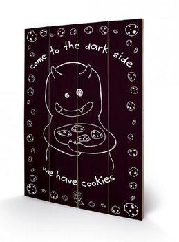 D&G MONSTER MASH - dark side cookies Wooden Art
