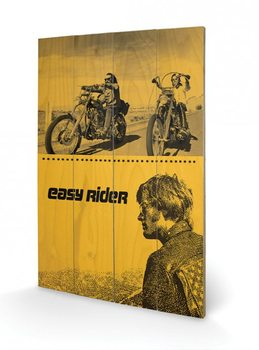 Easy Rider - Split Wooden Art