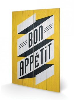Edu Barba - Bon Appetit Wooden Art