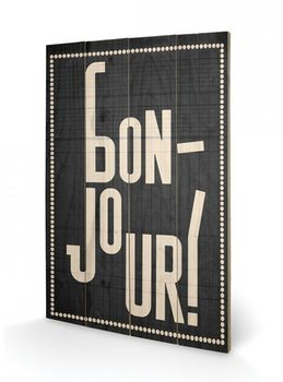 Edu Barba - Bonjour Wooden Art