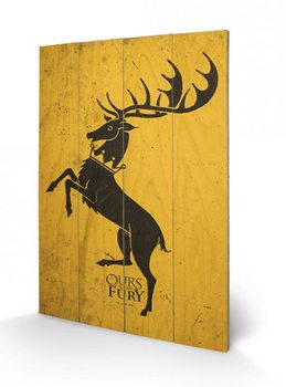 Game of Thrones - Baratheon Wooden Art