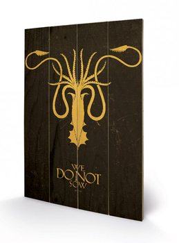 Game of Thrones - Grey Joy Wooden Art