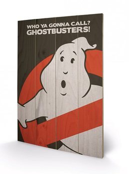 Ghostbusters - Logo Wooden Art