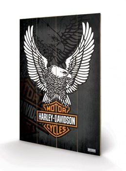 HARLEY DAVIDSON - eagle Wooden Art