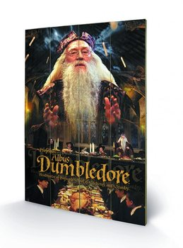 Harry Potter - Dumbledore Wooden Art