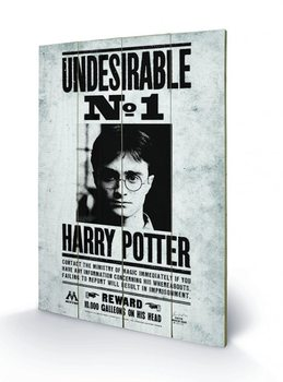 Harry Potter - Undesirable No1 Wooden Art