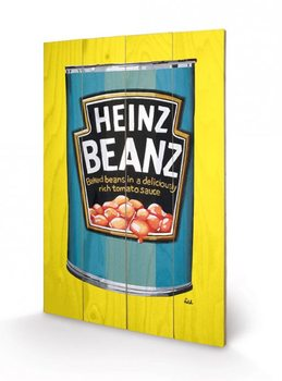 Heinz - Beanz Can Wooden Art
