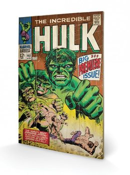Hulk - Big Issue Wooden Art