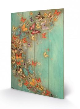 Lily Greenwood - Chinese Green Wooden Art