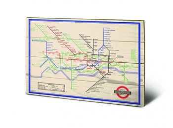 London Transport Wooden Art